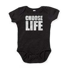 Choose Life Baby Bodysuit
