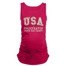 V. USA World War Champs Maternity Tank Top