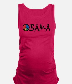 3-obama_peace_st.png Maternity Tank Top