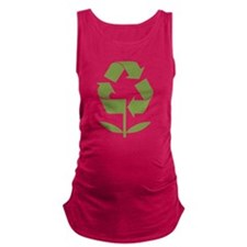 Recycle Flower Maternity Tank Top