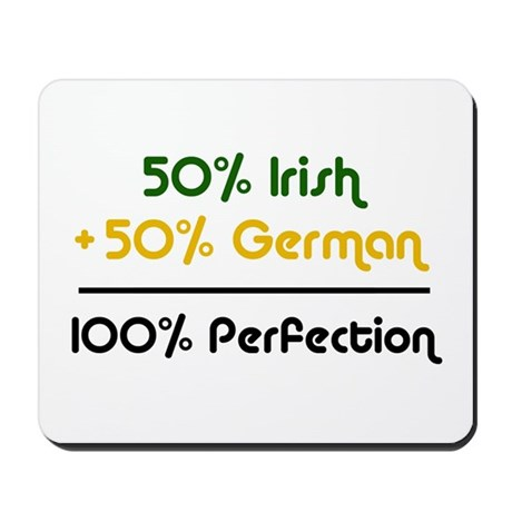 Irish & German Mousepad