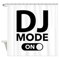 DJ Mode On Shower Curtain