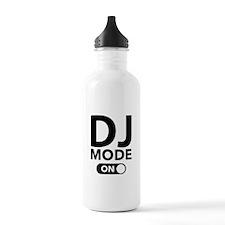 DJ Mode On Water Bottle