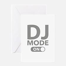 DJ Mode On Greeting Card