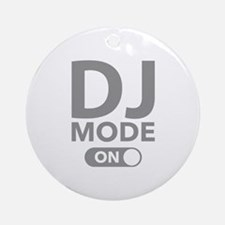 DJ Mode On Ornament (Round)