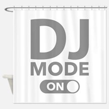 DJ Mode On Shower Curtain