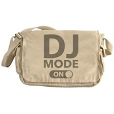 DJ Mode On Messenger Bag