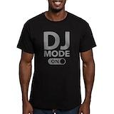 Dj Fitted Dark T-Shirts