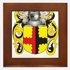 Brookes Coat of Arms Framed Tile