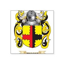 Brooks Coat of Arms Sticker