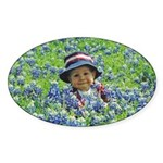 Photo Oval Sticker