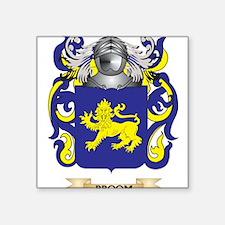 Broom Coat of Arms Sticker
