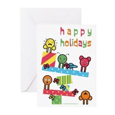 Funny Hip christmas Greeting Cards (Pk of 10)