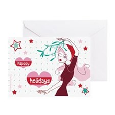 Unique Hip christmas Greeting Cards (Pk of 10)