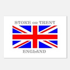 Stoke on Trent England Postcards (Package of 8)