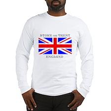 Stoke on Trent England Long Sleeve T-Shirt