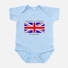 Stoke on Trent England Infant Bodysuit