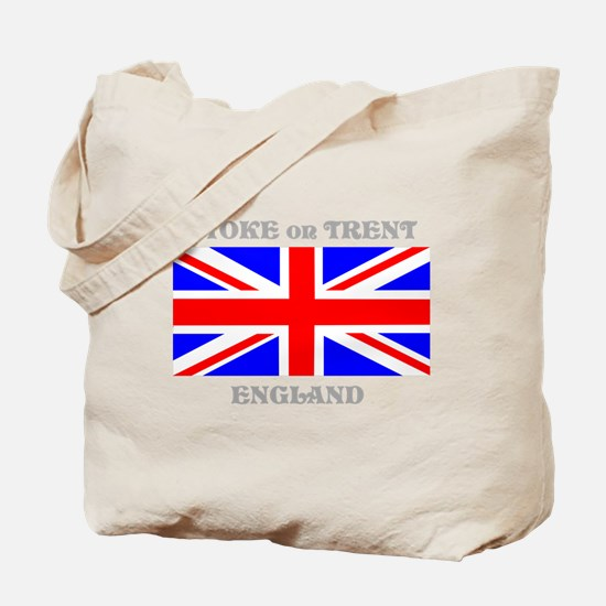 Stoke on Trent England Tote Bag