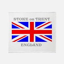 Stoke on Trent England Throw Blanket