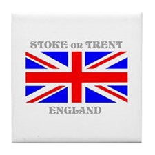 Stoke on Trent England Tile Coaster
