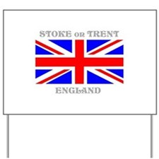 Stoke on Trent England Yard Sign