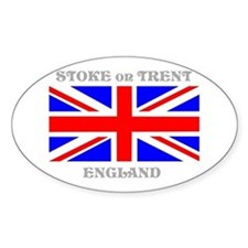 Stoke on Trent England Decal