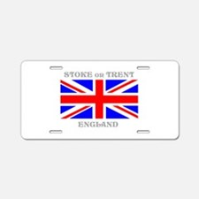 Stoke on Trent England Aluminum License Plate