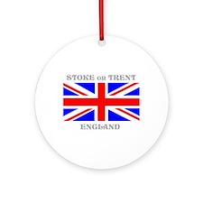 Stoke on Trent England Ornament (Round)