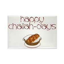 Happy Challah-Days Rectangle Magnet