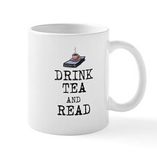Drink Tea and Read Mug