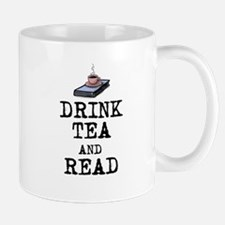 Drink Tea and Read Mug