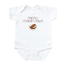 Happy Challah-Days Infant Bodysuit