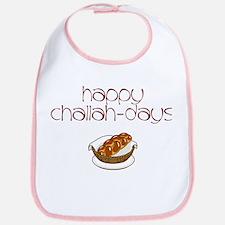 Happy Challah-Days Bib