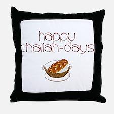 Happy Challah-Days Throw Pillow