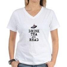 Drink Tea and Read T-Shirt