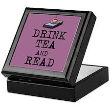 Drink Tea and Read Keepsake Box