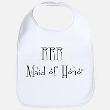 RRR   Maid of Honor Bib