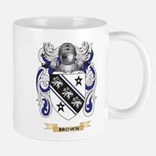 Brown Coat of Arms Mug