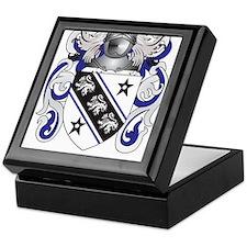 Brown Coat of Arms Keepsake Box
