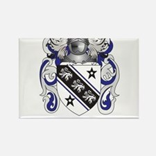 Brown Coat of Arms Rectangle Magnet