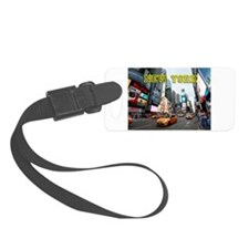 New York Times Square Pro Photo Luggage Tag