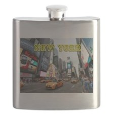 New York Times Square Pro Photo Flask