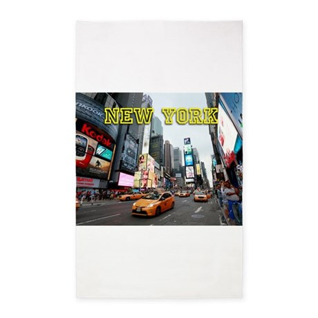 New York Times Square Pro Photo Area Rug