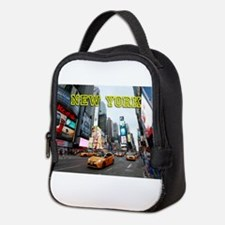 New York Times Square Pro Photo Neoprene Lunch Bag