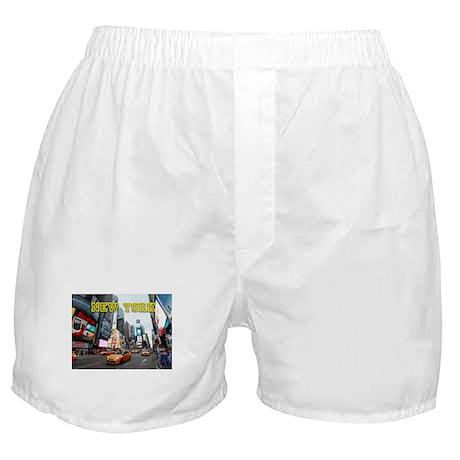 New York Times Square Pro Photo Boxer Shorts