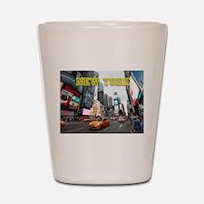 New York Times Square Pro Photo Shot Glass