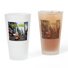 New York Times Square Pro Photo Drinking Glass