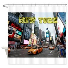 New York Times Square Pro Photo Shower Curtain