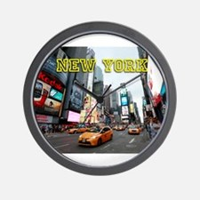New York Times Square Pro Photo Wall Clock