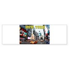 New York Times Square Pro Photo Bumper Bumper Sticker